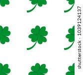 seamless background  irish... | Shutterstock . vector #1039124137