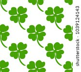 seamless background  irish... | Shutterstock . vector #1039124143