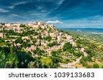 gordes  provence  france.... | Shutterstock . vector #1039133683