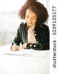 preparation for the exam. hard...   Shutterstock . vector #1039135177