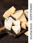 different sorts of cheese | Shutterstock . vector #1039196683