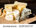 different sorts of cheese | Shutterstock . vector #1039196737