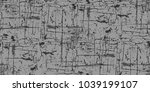 seamless dark gray background.... | Shutterstock .eps vector #1039199107