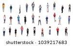 group of people team  | Shutterstock . vector #1039217683