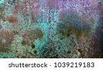 old oxidized bronze texture | Shutterstock . vector #1039219183