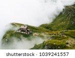 caraiman cabin in bucegi...   Shutterstock . vector #1039241557