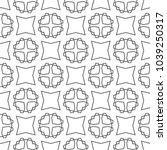 seamless geometric ornamental... | Shutterstock .eps vector #1039250317