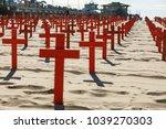 santa monica  usa   february 15 ... | Shutterstock . vector #1039270303