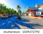 isla mujeres. mexico  november...   Shutterstock . vector #1039272793