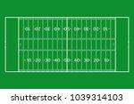 american football field. green... | Shutterstock .eps vector #1039314103