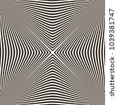 optical illusion  black and...   Shutterstock .eps vector #1039381747