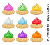 vector stock of colorful kue...   Shutterstock .eps vector #1039382503