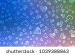 light blue  green vector cover... | Shutterstock .eps vector #1039388863