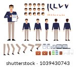 man creation kit. create your... | Shutterstock .eps vector #1039430743