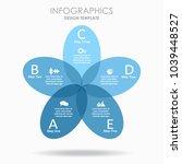infographic template. vector...   Shutterstock .eps vector #1039448527