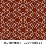 simple modern seamless... | Shutterstock .eps vector #1039458913
