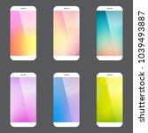 modern minimal style smart... | Shutterstock .eps vector #1039493887