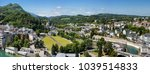 panoramic view of the city... | Shutterstock . vector #1039514833