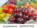 popular thai dessert in... | Shutterstock . vector #1039517443