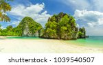 beautiful bay of the island of... | Shutterstock . vector #1039540507