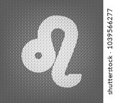 leo sign illustration. vector.... | Shutterstock .eps vector #1039566277