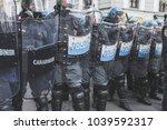 milan  italy   february 24 ... | Shutterstock . vector #1039592317