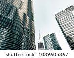 the office buildings   Shutterstock . vector #1039605367