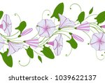 seamless pattern of white and... | Shutterstock .eps vector #1039622137