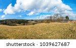 panoramic view of rural... | Shutterstock . vector #1039627687