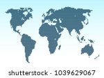 dotted world map.   Shutterstock .eps vector #1039629067