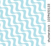 abstract wavy stripes seamless... | Shutterstock .eps vector #1039650133