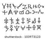 Medieval Alchemical Signs Of...