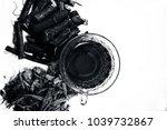 ayurvedic herb liquorice root... | Shutterstock . vector #1039732867