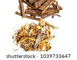 close up of ayurvedic herb... | Shutterstock . vector #1039733647