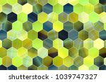 abstract conceptual colorful... | Shutterstock . vector #1039747327