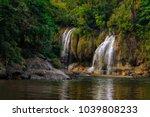 kanchanaburi thailand  ... | Shutterstock . vector #1039808233