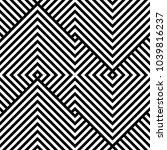 geometric pattern. vector... | Shutterstock .eps vector #1039816237