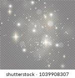 white sparks glitter special... | Shutterstock .eps vector #1039908307