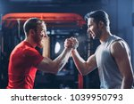 arms wrestling  competition ... | Shutterstock . vector #1039950793