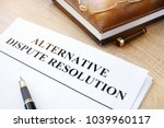 documents with title... | Shutterstock . vector #1039960117