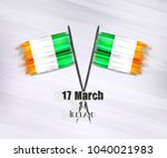 vector illustration of happy... | Shutterstock .eps vector #1040021983
