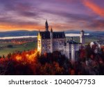 dramatik picturesque scene on... | Shutterstock . vector #1040047753