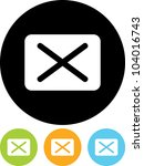 envelope with message   vector... | Shutterstock .eps vector #104016743