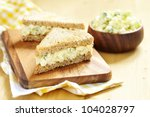 Egg Salad Sandwich With...