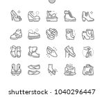 women's shoes well crafted... | Shutterstock .eps vector #1040296447