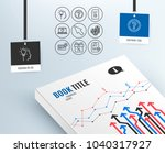 set of idea  mouse cursor and... | Shutterstock .eps vector #1040317927