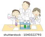 science experiment   school... | Shutterstock .eps vector #1040322793