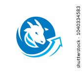 goat meat trade sign   Shutterstock .eps vector #1040334583