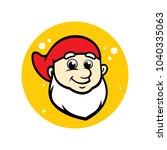 dwarf head sign   Shutterstock .eps vector #1040335063