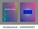 cover design template set with... | Shutterstock .eps vector #1040345407